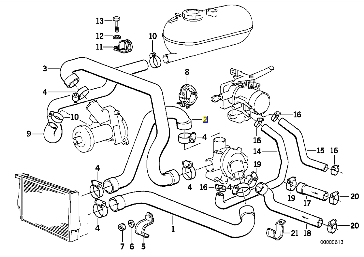 bmw m20 Motor diagram