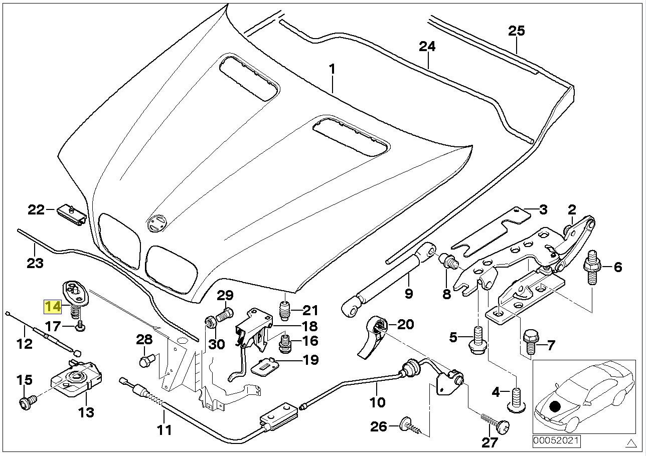 Genuine Bmw Fuse Box Auto Wiring Diagram Electrical E52 Engine