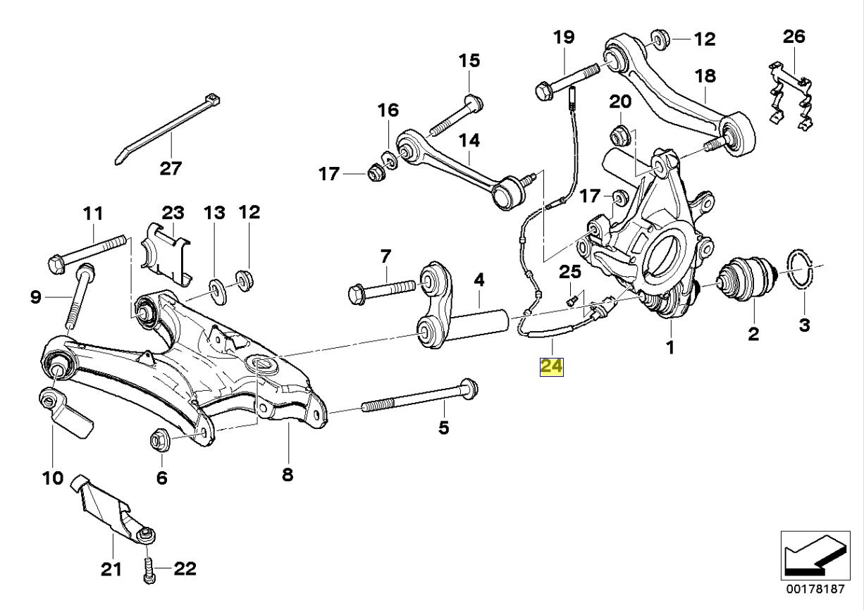bmw m5 rear sensors bedradings schema