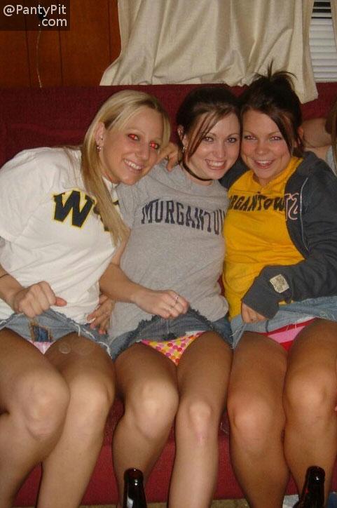 college girls wet panties