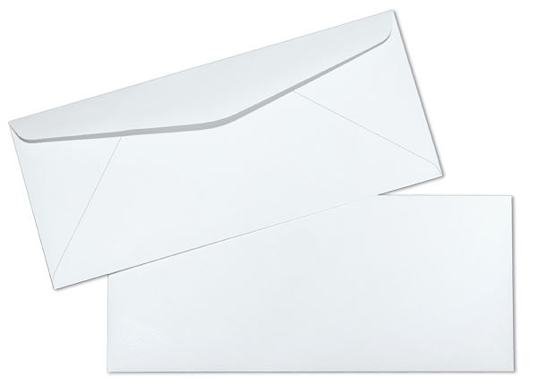 7 3/4 24lb White Wove Regular Commercial Envelopes Paoli Envelope - Small Envelope Template
