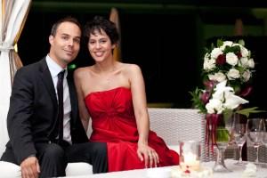 Foto Paolo Cicognani con Sposa