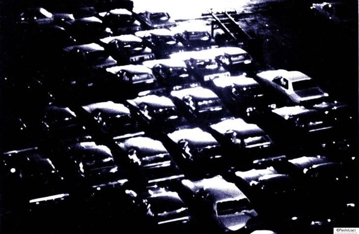 Parcheggio di auto a NYC