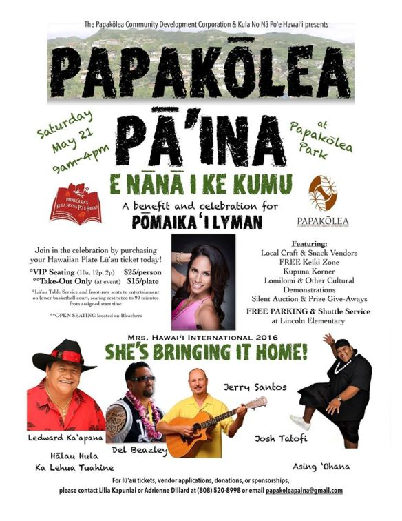 Papakolea Pa'ina poster