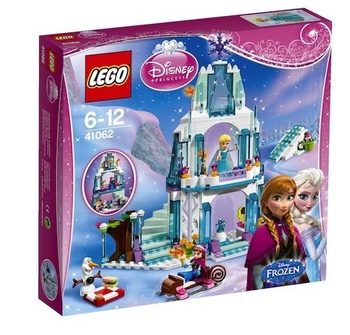 El Brillante Castillo de Hielo de Elsa