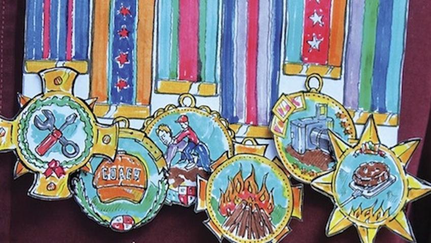 medalla dia del padre
