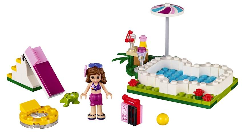 Nuevos sets de lego friends para el verano for Piscina lego friends