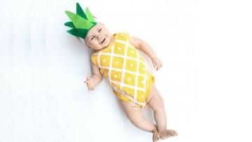 Cuatro disfraces caseros para bebés