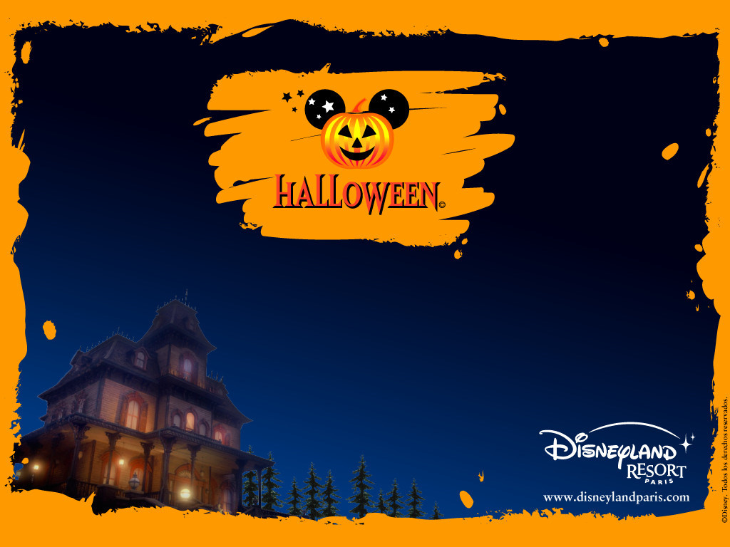 Disney Halloween Desktop