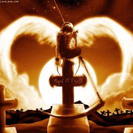 Papel de parede 'Anjo da Morte'