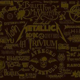 Papel de parede 'Bandas de Rock [2]'