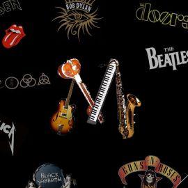 Papel de parede 'Bandas de Rock'