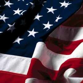 Papel de parede 'Bandeira dos EUA'