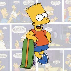 Papel de parede 'Bart Simpson'
