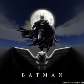 Papel de parede 'Batman Desenho'