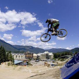Papel de parede 'Bicicleta voadora'