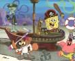 Papel de Parede Bob Esponja Pirata