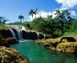 Papel de Parede Cachoeira Isolada