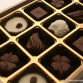 Papel de parede 'Chocolate'