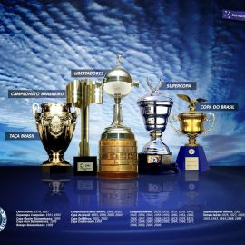 Papel de parede 'Cruzeiro – Taças'