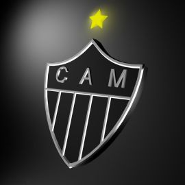 Papel de parede 'Escudo Atlético Mineiro'