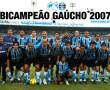 Papel de Parede Grêmio Bicampeão Gaúcho 2007