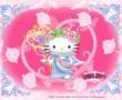 Papel de Parede Hello Kitty Anjo #2