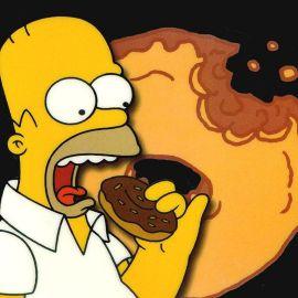 Papel de parede 'Homer Simpson'