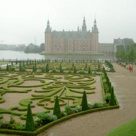 Papel de parede 'Jardins da Dinamarca'