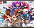 Papel de Parede Lego Rockband