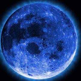 Papel de parede 'Lua Azul'