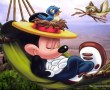 Papel de Parede Mickey Tirando uma Soneca