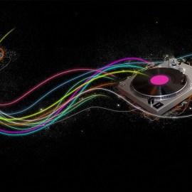 Papel de parede 'Música – Eletrônica'