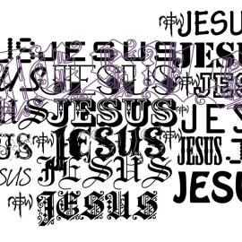 Papel de parede 'Nome de Jesus'