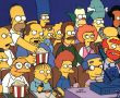 Papel de Parede Os Simpsons – Assistindo TV