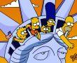 Papel de Parede Os Simpsons na Estátua da Liberdade