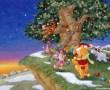 Papel de Parede Pooh – Natal