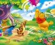 Papel de Parede Pooh – Vento Forte