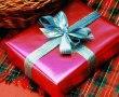 Papel de Parede Presente de Natal – Vermelho
