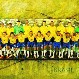 Papel de parede 'Seleção Brasileira'