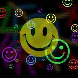 Papel de parede 'Vários Smiles'