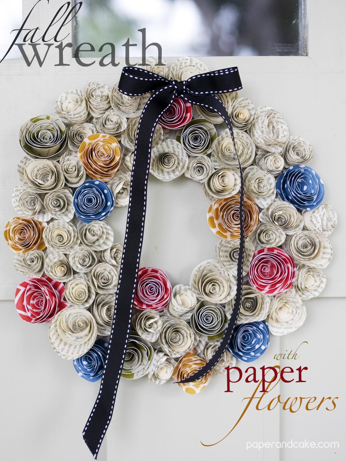 printable paper flower template