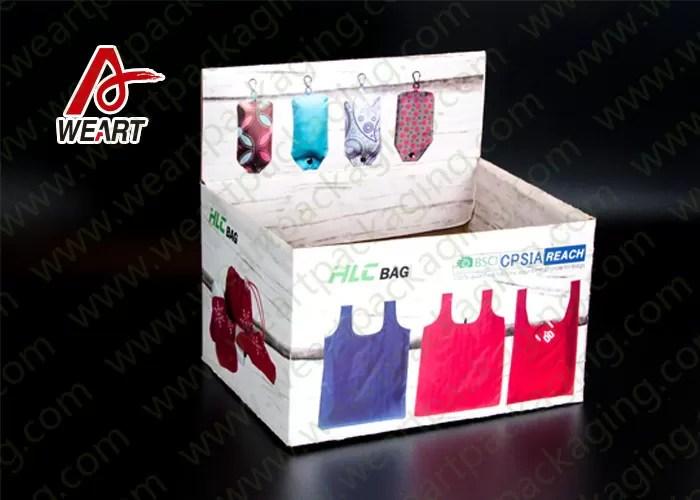 Fashion Display Fold Paper Gift Box , E - Flute  Glossy Lamination