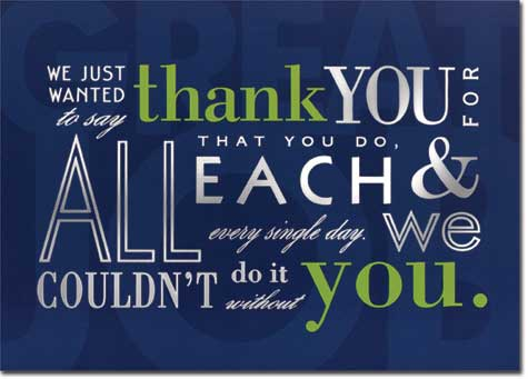Business Thank You Cards Buy Online at PaperCards