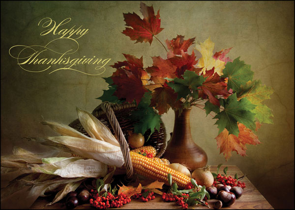 Thanksgiving Cards for Business Buy Online PaperCards