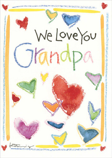 We Love You - Recycled Paper Greetings Father\u0027s Day Card 42823002403 - father day cards