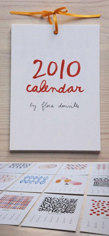 Flora Douville 2010 Calendar