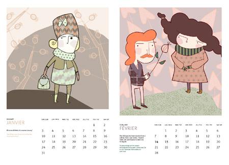 Valerydesignwrks 2010 Calendar