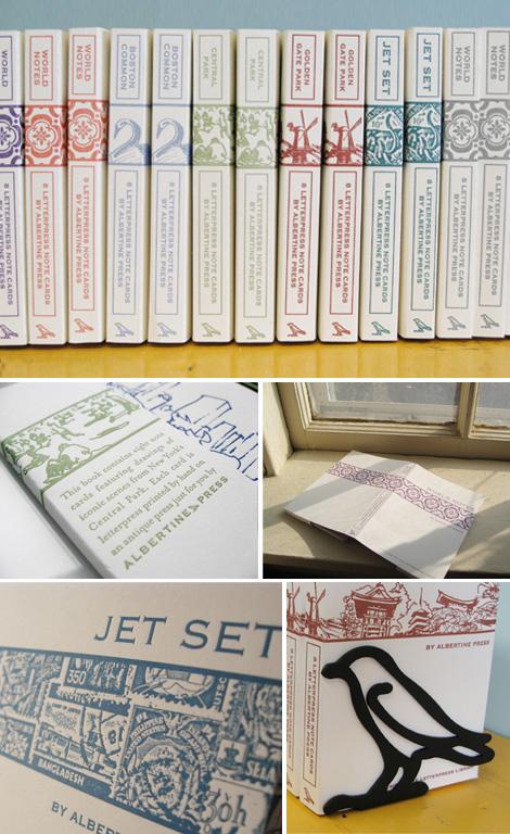 Albertine Press Letterpress Library