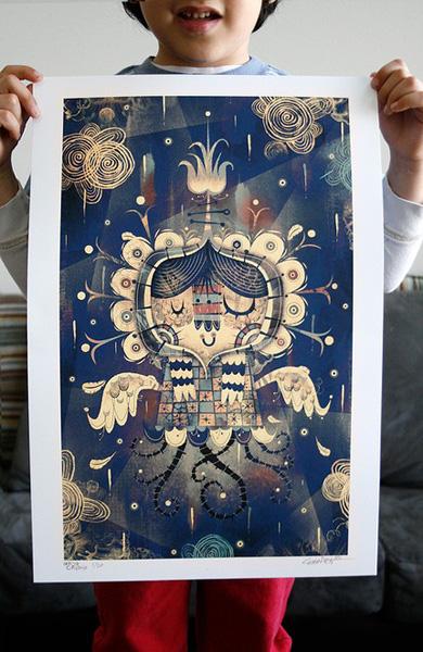 Alberto Cerriteno Art Print